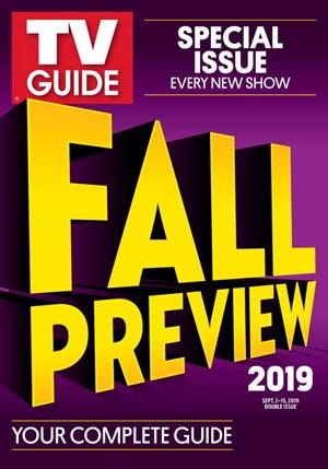 TV Guide Magazine   9/2/2019 Cover