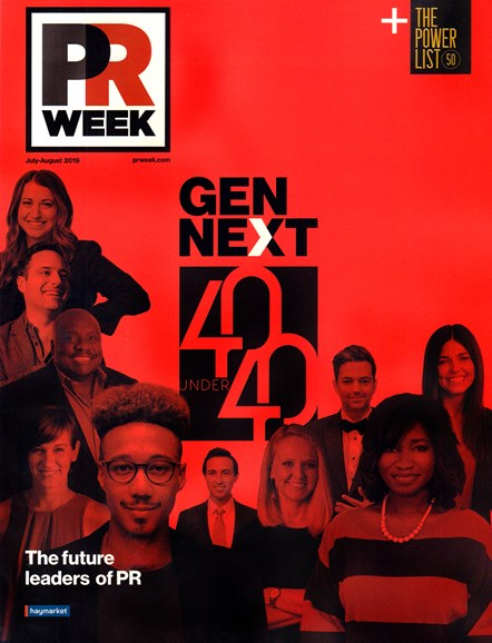 PRWeek Cover - 7/1/2019