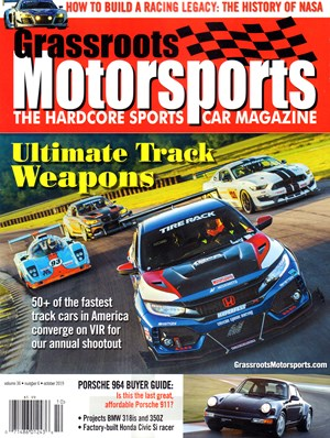 Grassroots Motorsports Magazine | 10/2019 Cover