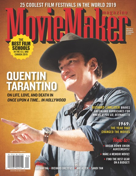 Moviemaker Magazine Cover - 8/1/2019