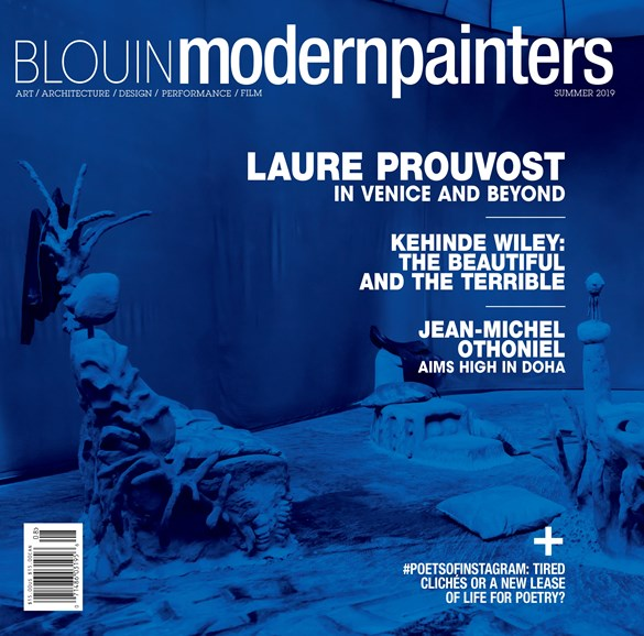 Blouin Modern Painters Cover - 7/1/2019