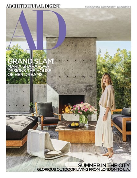 Architectural Digest Cover - 7/1/2019