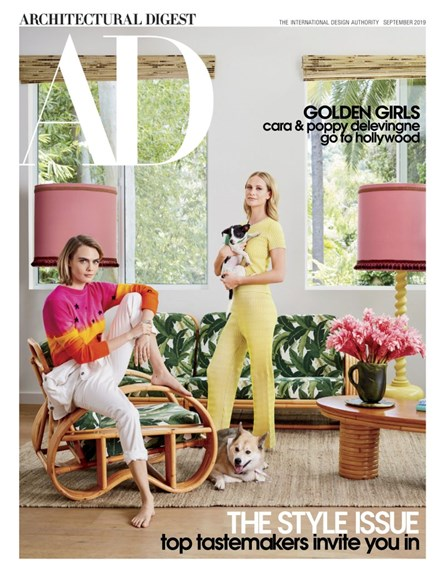 Architectural Digest Cover - 9/1/2019