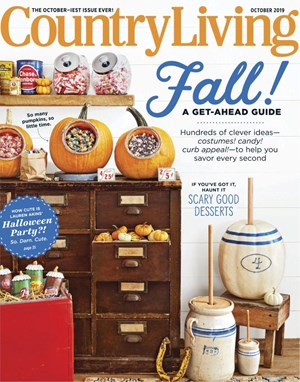 Country Living Magazine | 10/2019 Cover