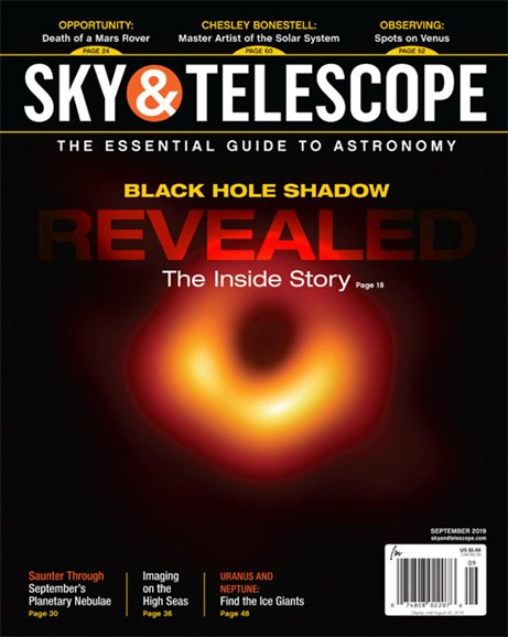 Sky & Telescope Cover - 9/1/2019