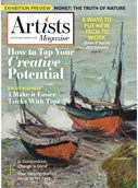 Artists Magazine   10/2019 Cover
