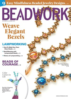 Beadwork Magazine | 10/2019 Cover