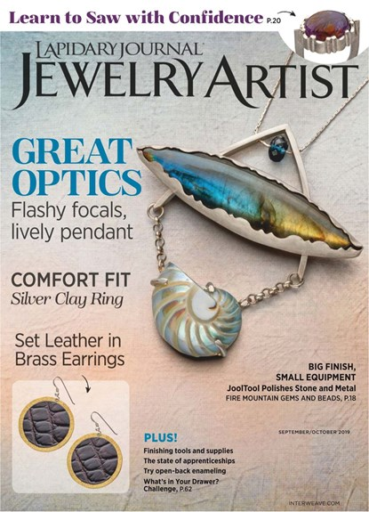 Jewelry Artist Magazine | 9/2019 Cover