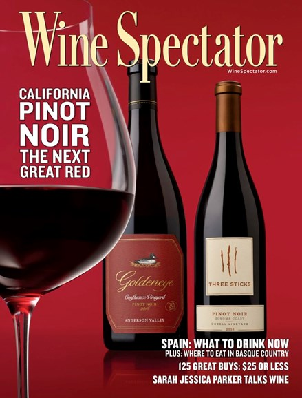 Wine Spectator Cover - 10/15/2019
