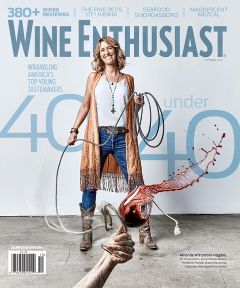 Wine Enthusiast Cover - 10/1/2019
