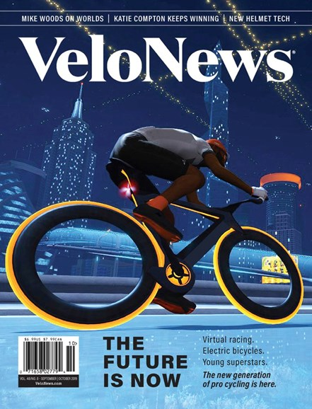 VeloNews Cover - 9/1/2019