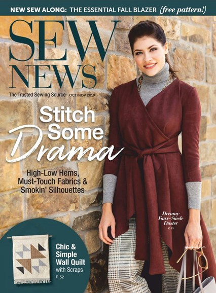 Sew News Cover - 10/1/2019