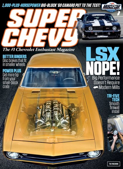 Super Chevy Cover - 10/1/2019