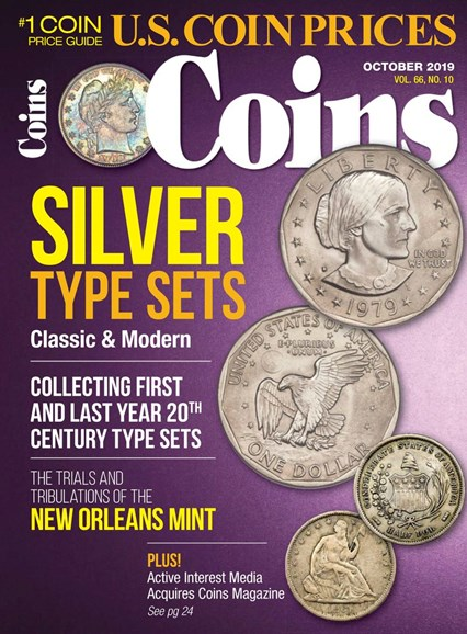 Coins Cover - 10/1/2019