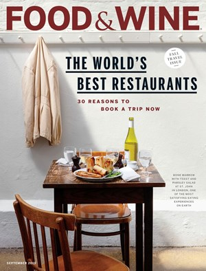 Food & Wine Magazine | 9/1/2019 Cover