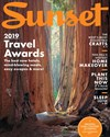 Sunset Magazine | 9/1/2019 Cover