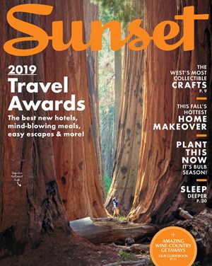 Sunset Magazine | 9/1/2019 Cover