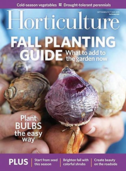 Horticulture Cover - 9/1/2019
