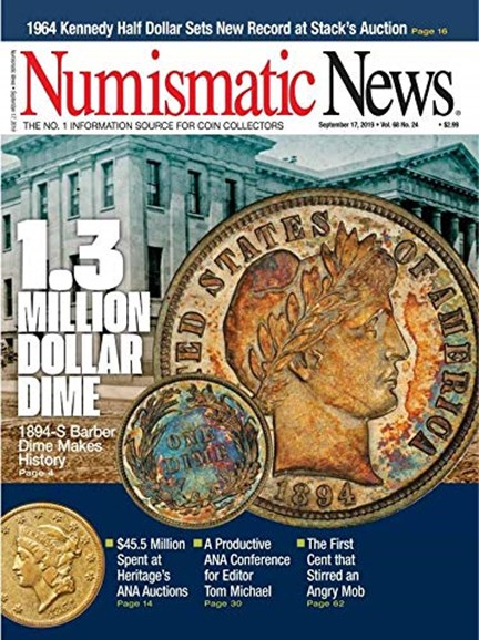 Numismatic News Cover - 9/17/2019