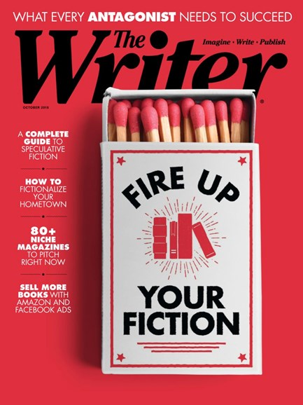 The Writer Cover - 10/1/2019