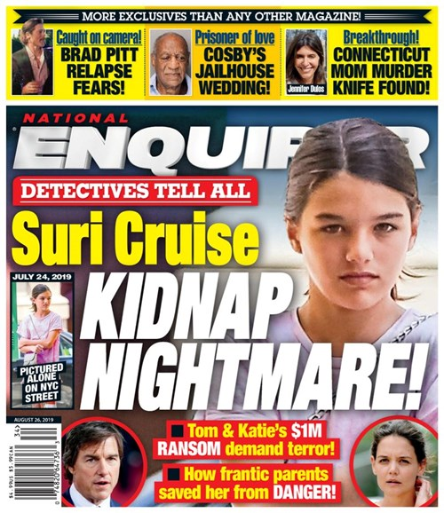 National Enquirer Cover - 8/26/2019