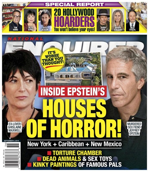 National Enquirer Cover - 9/9/2019