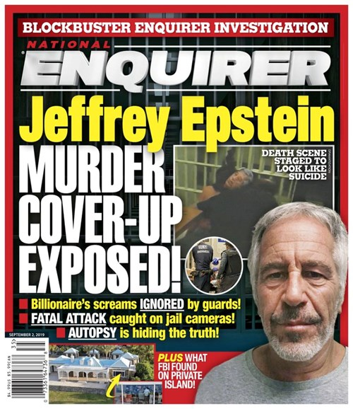 National Enquirer Cover - 9/2/2019