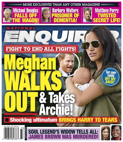 National Enquirer Cover - 8/19/2019