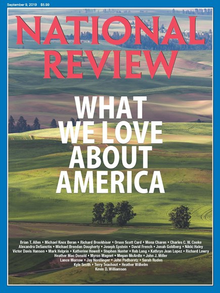 National Review Cover - 9/9/2019