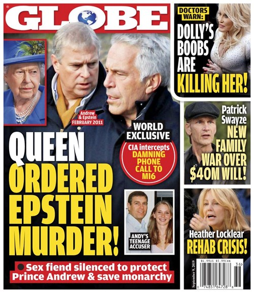 Globe Cover - 9/9/2019