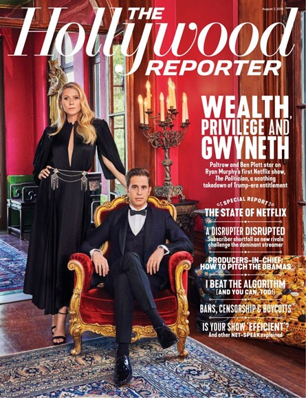 The Hollywood Reporter Cover - 8/7/2019