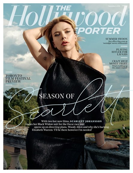 The Hollywood Reporter Cover - 9/4/2019