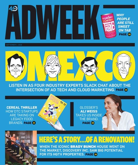 Adweek Cover - 9/2/2019