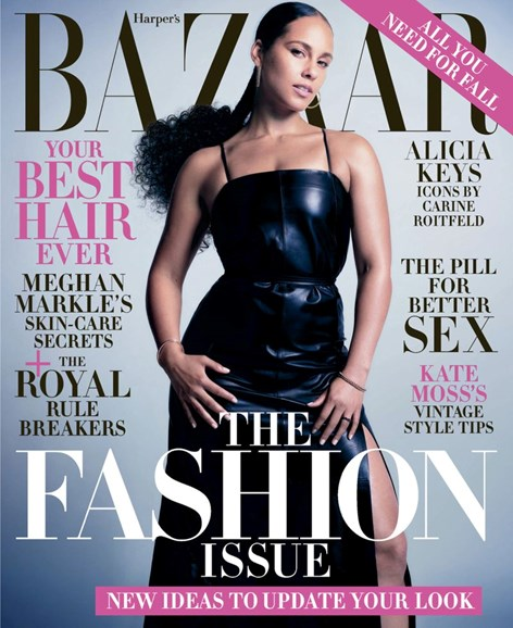 Harper's Bazaar Cover - 9/1/2019