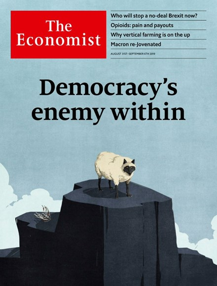 The Economist Cover - 8/31/2019