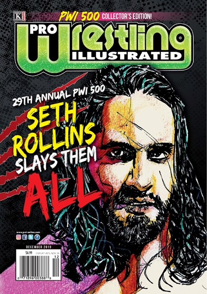 Pro Wrestling Illustrated Cover - 12/1/2019