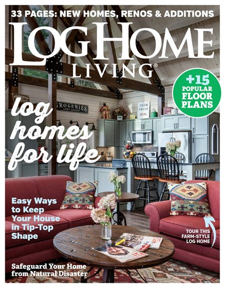 Log Home Living Cover - 9/1/2019