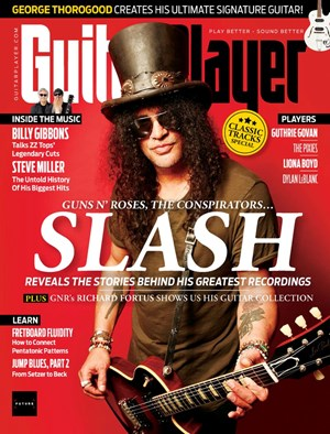 Guitar Player   10/2019 Cover