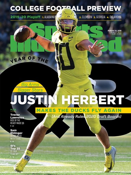 Sports Illustrated Cover - 8/12/2019