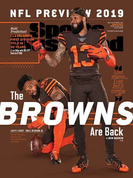 Sports Illustrated Cover - 8/26/2019