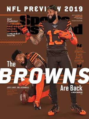 Sports Illustrated Magazine | 8/26/2019 Cover