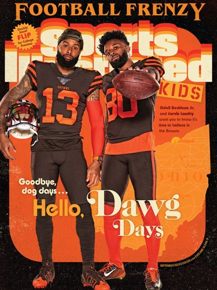 Sports Illustrated Kids Cover - 9/1/2019