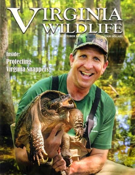 Virginia Wildlife Cover - 9/1/2019