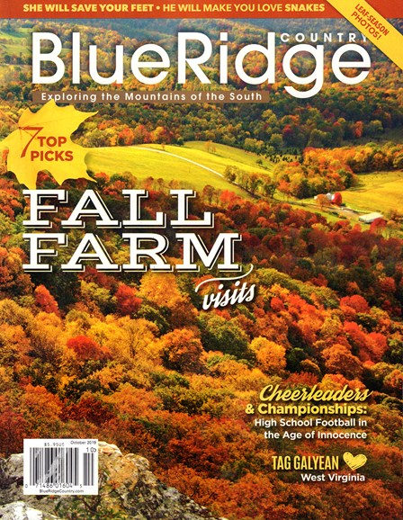 Blue Ridge Country Cover - 10/1/2019