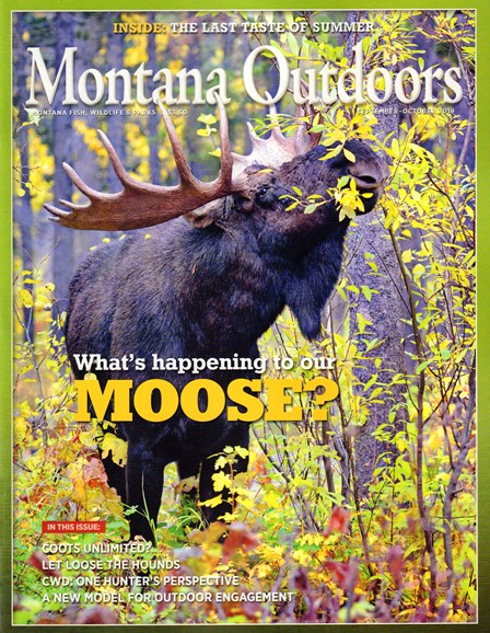 Montana Outdoors Cover - 9/1/2019
