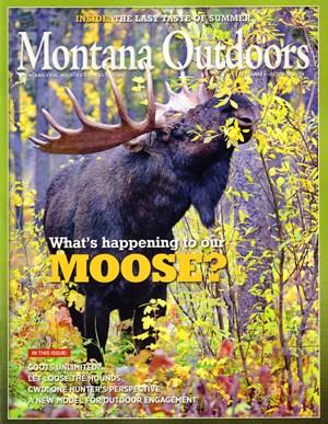 Montana Outdoors Magazine | 9/2019 Cover
