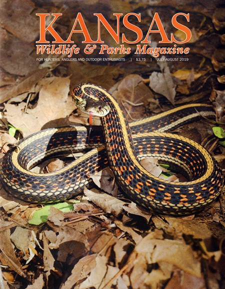 Kansas Wildlife & Parks Cover - 7/1/2019