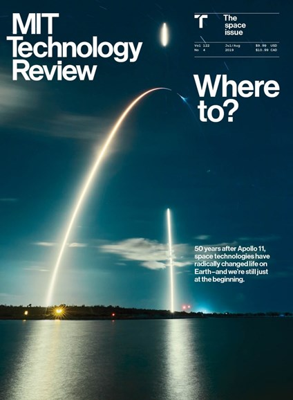MIT Technology Review Cover - 7/1/2019