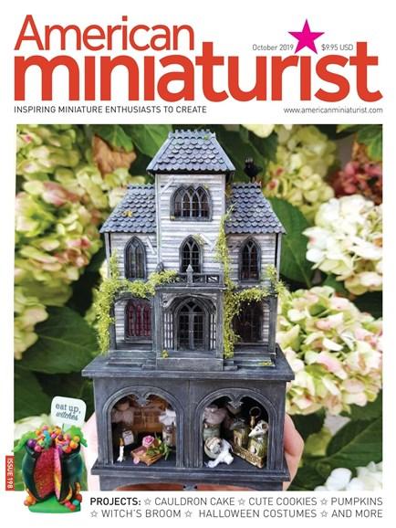 American Miniaturist Cover - 10/1/2019