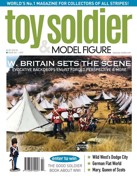 Toy Soldier & Model Figure Cover - 9/1/2019